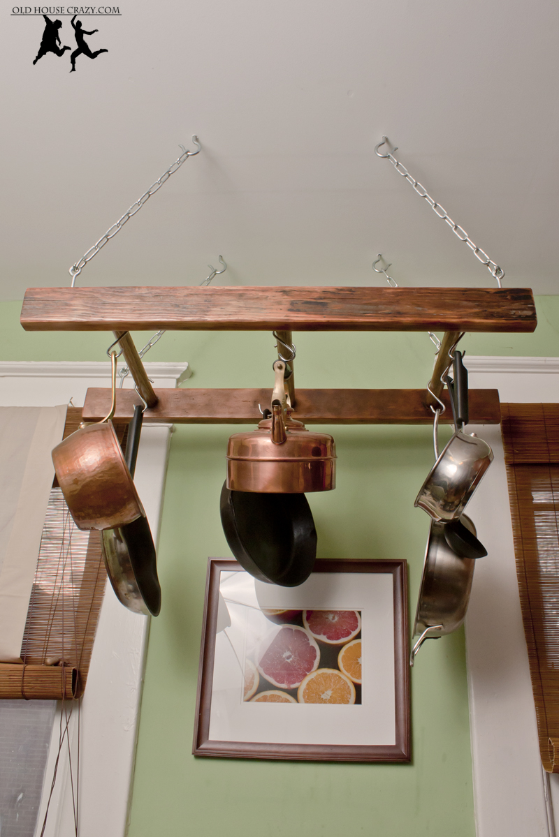 finding - Kitchen Pot Rack Ideas