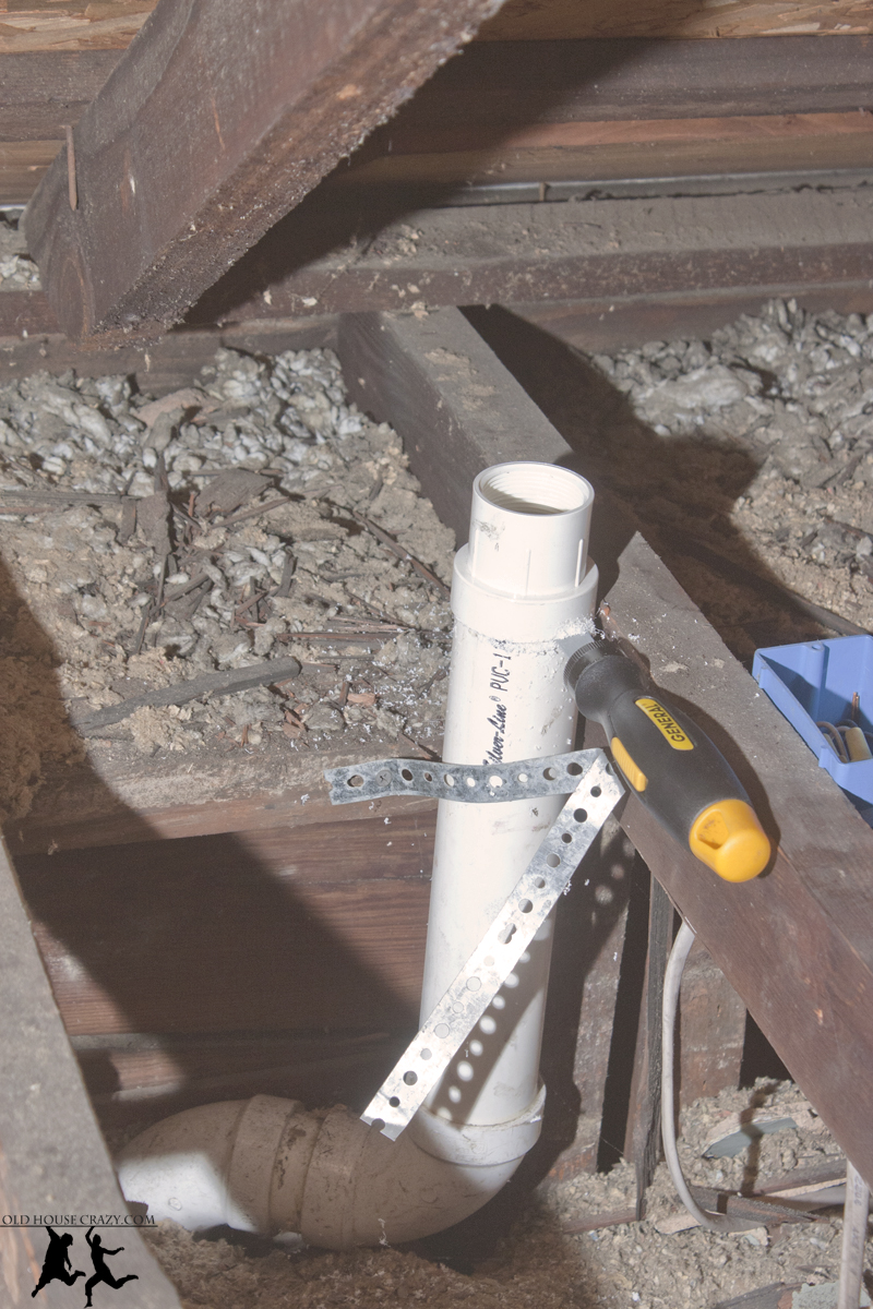 Cutting a hole in your roof installing a vent pipe diy old after solutioingenieria Images