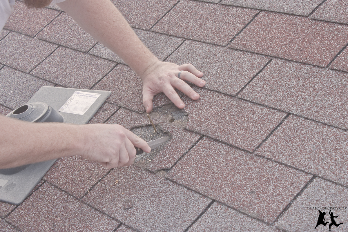 Cutting A Hole In Your Roof Installing A Vent Pipe