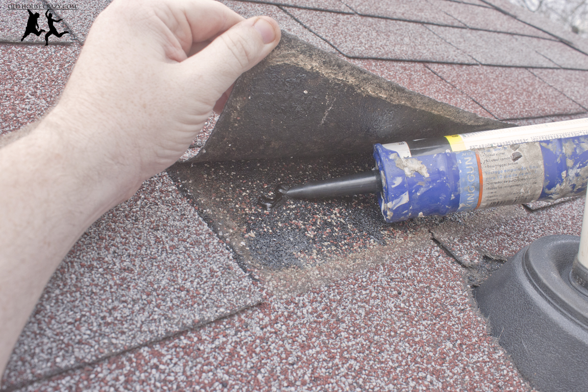 Sealing Leaks In Pipes : Cutting a hole in your roof installing vent pipe diy