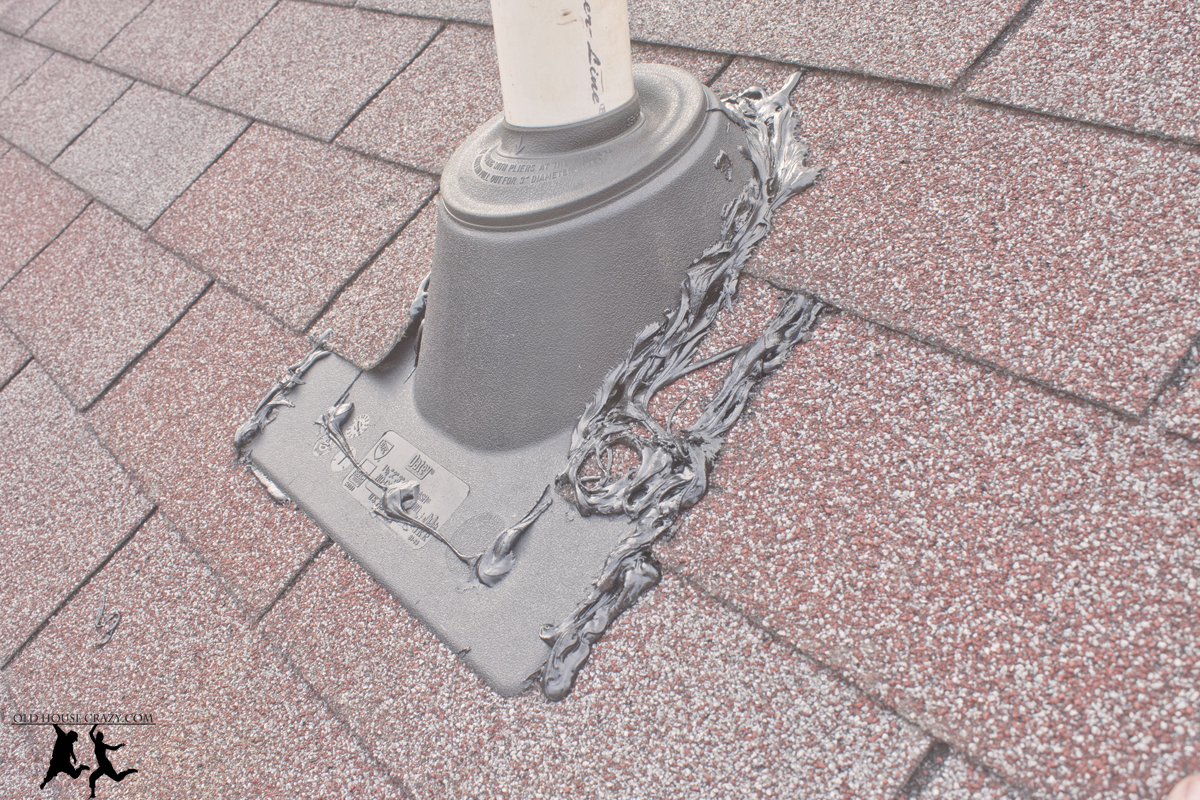 Cutting A Hole In Your Roof Installing A Vent Pipe Diy