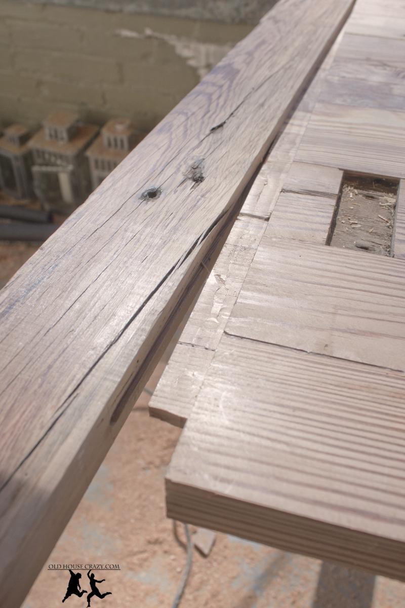 Reclaimed Heart Pine Farmhouse Table Diy Part 2 Glue