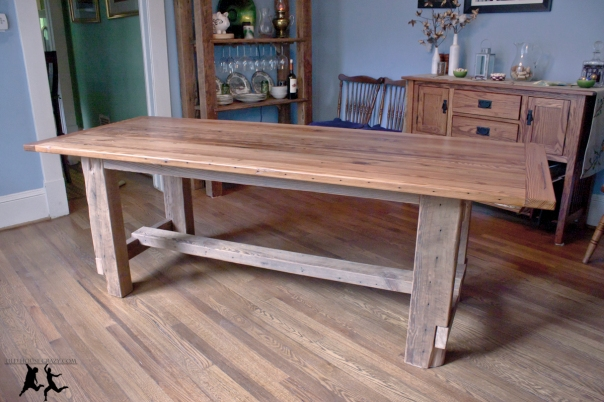 How To Build A Farm Table Plans indoor storage bench plans ...