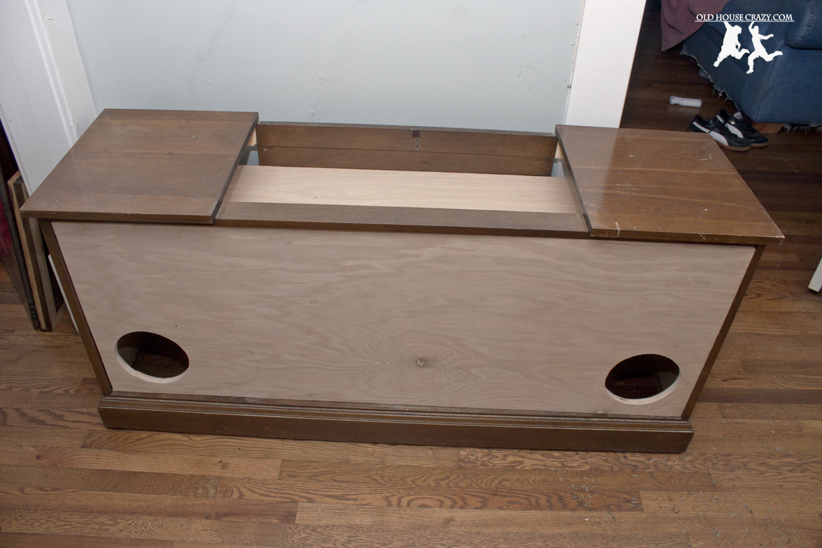 Rebuilding an Old Stereo Console – DIY – Part 3 | Old House