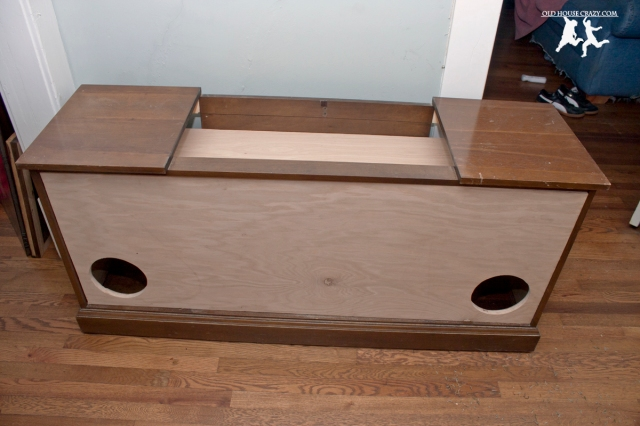 Old House Crazy - DIY - Restore an Old Stereo Console - 19