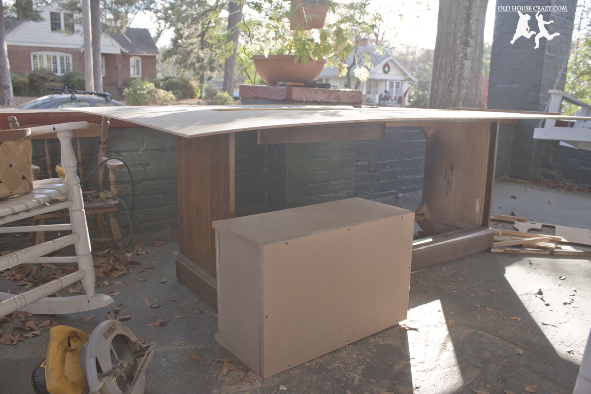 Rebuild and Modernize an Old Stereo Console – DIY   Old House Crazy