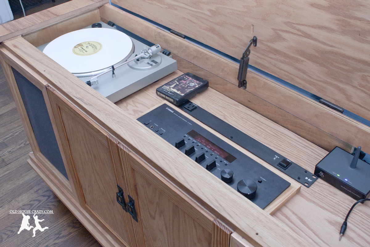 Rebuild And Modernize An Old Stereo Console Diy House Crazy Tube Lifier Schematics Additionally Magnavox On Restore 27