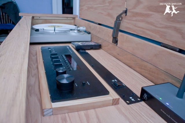 Old House Crazy - DIY - Restore an Old Stereo Console - 30